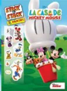 la casa de mickey mouse (stick & stack)-9788427869042