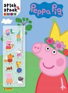 peppa pig. stick & stack (nª249)-9788427871670