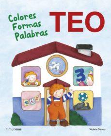 teo. colores, formas, palabras-violeta denou-9788408118237