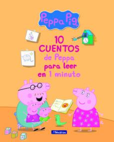 10 cuentos de peppa para leer en 1 minuto (peppa pig. primeras le cturas)-9788448849719
