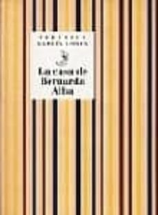 la casa de bernarda alba-federico garcia lorca-9788481516449