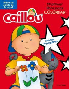 caillou.mi primer libro para colorear-9788408160236
