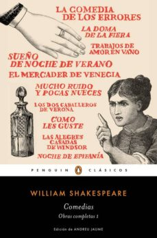 comedias (obra completa shakespeare 1)-william shakespeare-9788491051343