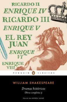 dramas historicos (obra completa shakespeare 3)-william shakespeare-9788491051367