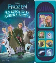 frozen, luces magicas libro musical 7 botones-9781503736634