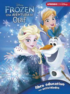 frozen: una aventura de olaf (libro educativo disney con activida des)-9788416931323