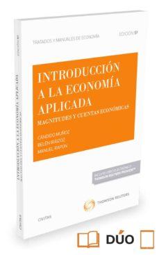 introduccion a la economia aplicada (5ª ed.): magnitudes y cuentas economicas-candido muñoz-9788491358640