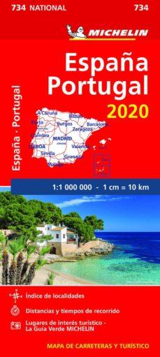 mapa national españa - portugal 2020-9782067244078
