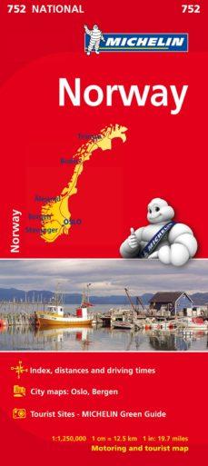 mapa national noruega 2019 (ingles)-9782067172784