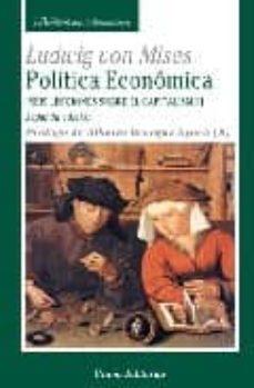 politica economica-ludwig von mises-9788472094727