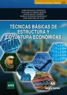 tecnicas basicas de estructura y cuyuntura economicas-9788417765378
