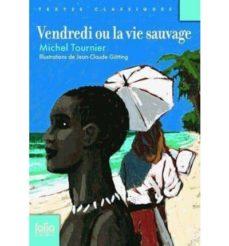 vendredi ou la vie sauvage-michel tournier-9782070650644