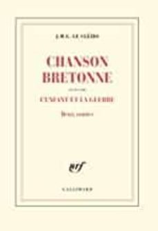 chanson bretonne-j.m.g. le clezio-9782072894992