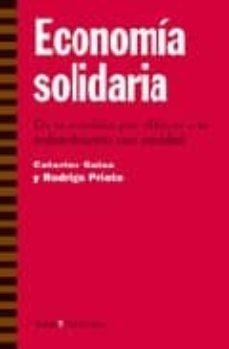 economia solidaria-caterine galaz-rodrigo prieto-9788474268805