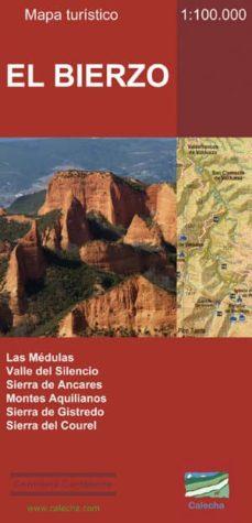 el bierzo: mapa turistico 1:100.000-9788494347405