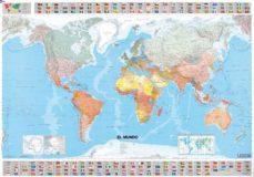 el mundo. mapa tubo (1:28500000)-9782061009857