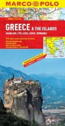 greece & the islands marco polo map 2011-9783829767095