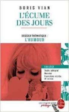 l ecume des jours (edition pedagogique)-boris vian-9782253183167