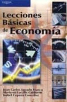 lecciones basicas de economia-juan carlos aguado franco-maricruz lacalle calderon-isabel cepeda gonzalez-9788497323055
