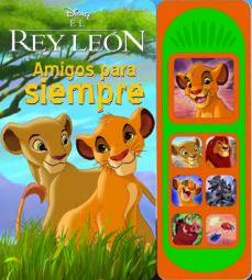 libro musical 7 botones rey leon-king lion-9781503745872