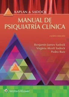 kaplan y sadock manual de psiquiatría clínica  (4ª edicion)-9788417033057