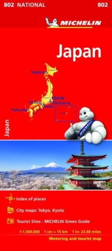mapa national japon 2018-9782067229259