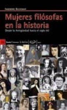 mujeres filosofas en la historia: desde la antiguedad hasta el si glo xxi-ingeborg gleichauf-9788498882049