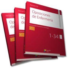 manual cto de oposiciones de enfermería - aragón-9788416932900