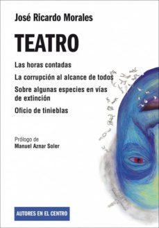teatro-jose ricardo morales-9788490410875