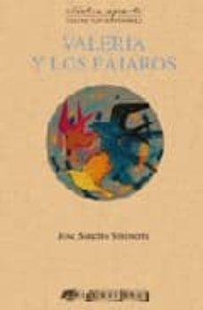 valeria y los pajaros-jose sanchis-9788492408160