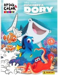 buscando a dory (stick & color)-9788427869165