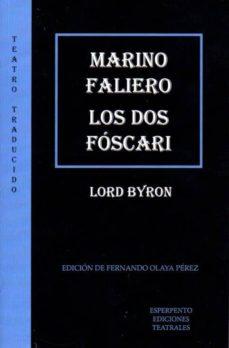 marino faliero/los dos fóscari-george (lord byron) gordon byron-9788494402920