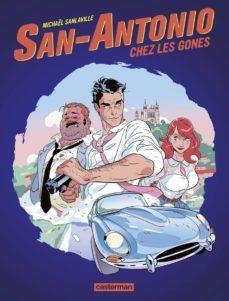 san-antonio chez les gones-michael sanlaville-9782203124325
