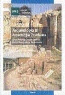 (44301ud31a01):arqueologia iii: arqueologia postclasica-juan antonio quiros castillo-belen bengoetxea rementeria-9788436252903