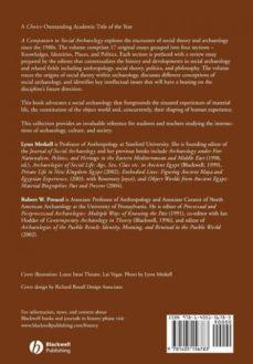 a companion to social archaeology-9781405156783