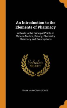 an introduction to the elements of pharmacy-9780342242535