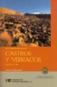 guia arqueologica de castros y verracos: provincia de avila (cuad ernos de patrimonio abulense nº 8)-jesus r. alvarez-sanchis-9788496433236
