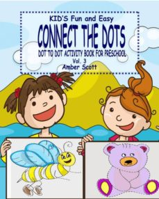 kids fun  easy connect the dots  vol 3  dot to dot activity book for preschool-9781367543720