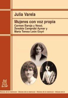 mujeres con voz propia-julia varela-9788471126573
