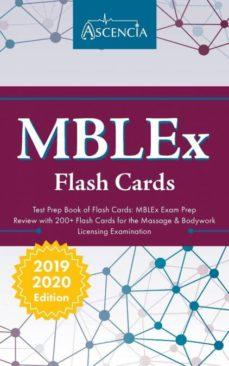 mblex test prep book of flash cards-9781635303759
