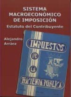 sistema macroeconomico de imposicion-alejandro arraez garcia-9788487827372