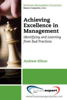 achieving excellence in management-9781606491225