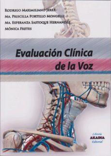 evaluación clínica de la voz-9789875702981