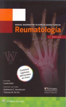 manual washington de especialidades clínicas: reumatología-leslie kahl-9788416004911
