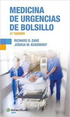 medicina de urgencias de bolsillo (3ª edicion)-richard d. zane-9788416004584