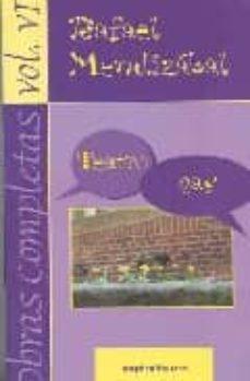 obras completas de rafael mendizabal volumen 6-rafael mendizabal-9788424510695