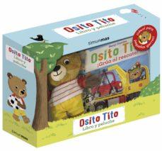 osito tito. libro y peluche-benji davies-9788408243298