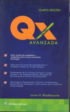 qx avanzada (4ª ed.)-lorne h. blackbourne-9788416004881