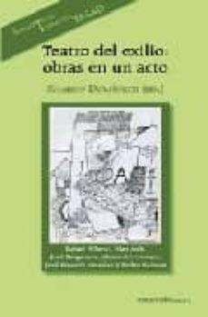 teatro del exilio. obras en un acto-ricardo domenech-9788424510756