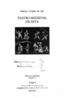 teatro medieval de hita-manuel criado de val-9789685709170